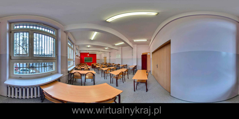 Prezentacja panoramiczna dla obiektu Zespół Szkół Przemysłu Spożywczego w Krakowie