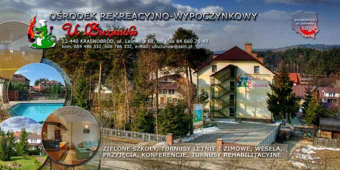 """Prezentacja panoramiczna dla obiektu Ośrodek Rekreacyjno-Wypoczynkowy """"U Buzunów"""""""