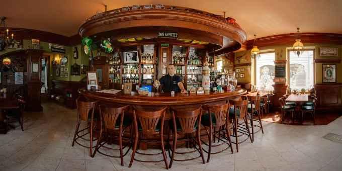 Prezentacja panoramiczna dla obiektu Corner Pub