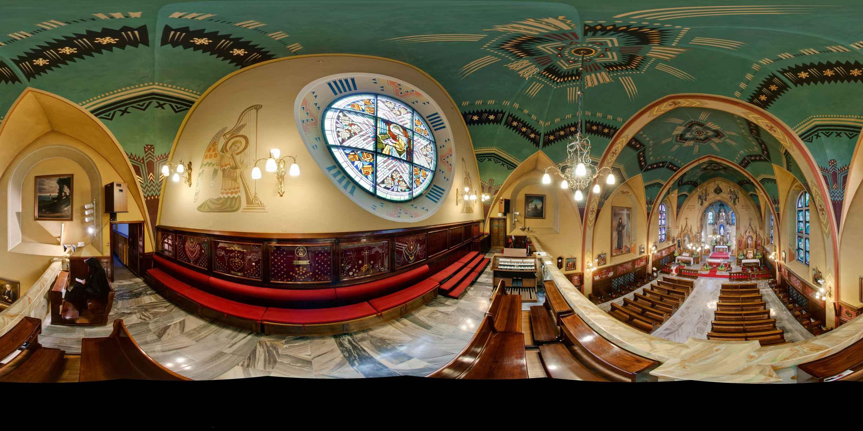 Prezentacja panoramiczna dla obiektu Klasztor Zgromadzenia Sióstr Matki Bożej Miłosierdzia