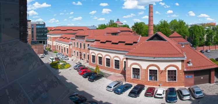 Prezentacja panoramiczna dla obiektu Centrum Kształcenia Praktycznego w Krakowie