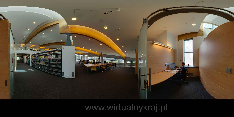 Prezentacja panoramiczna dla obiektu Biblioteka Główna UPJPII w Krakowie