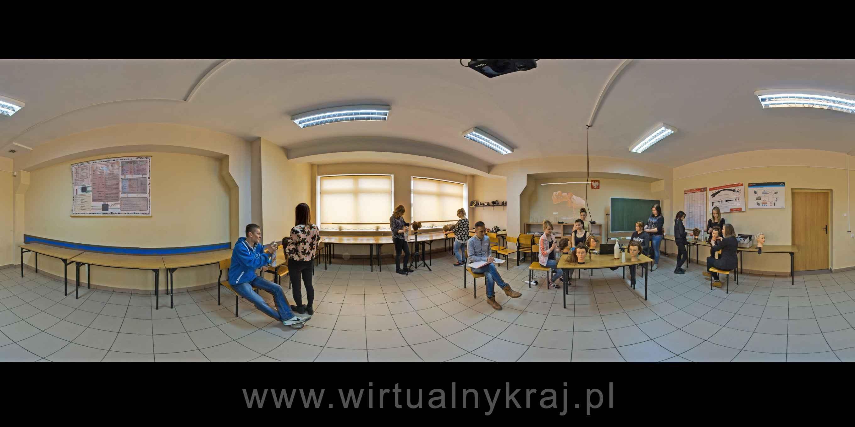 Prezentacja panoramiczna dla obiektu Zasadnicza Szkoła Zawodowa Rzemiosł Różnych w Zamościu