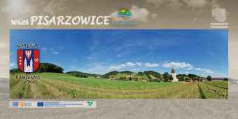 Prezentacja panoramiczna dla obiektu wieś PISARZOWICE