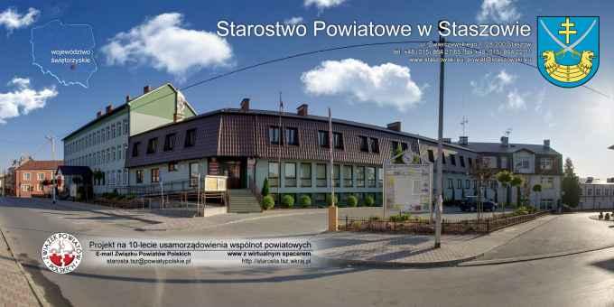 Prezentacja panoramiczna dla obiektu Starostwo Powiatowe w Staszowie