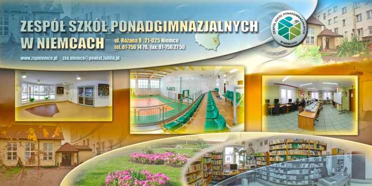 Prezentacja panoramiczna dla obiektu Zespół Szkół Ponadgimnazjalnych w Niemcach