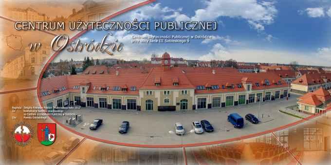 Prezentacja panoramiczna dla obiektu Centrum Użyteczności Publicznej w Ostródzie