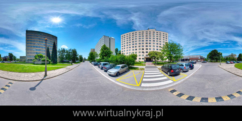 Prezentacja panoramiczna dla obiektu Uniwersytet Rolniczy w Krakowie -  Wydział Leśny
