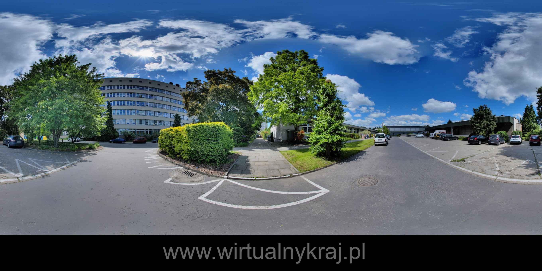 Prezentacja panoramiczna dla obiektu Uniwersytet Rolniczy w Krakowie - Wydział Biotechnologii i Ogrodnictwa