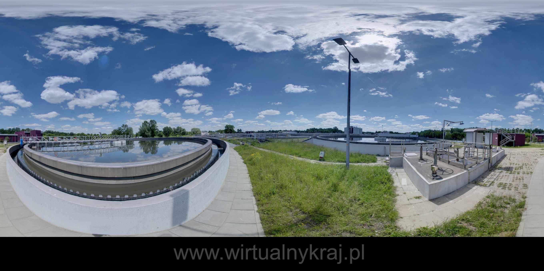 Prezentacja panoramiczna dla obiektu Zakład Oczyszczania Ścieków Kujawy