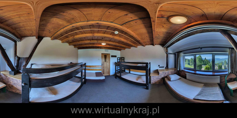 Prezentacja panoramiczna dla obiektu Młodzieżowy Dom Kultury. Dom Harcerza