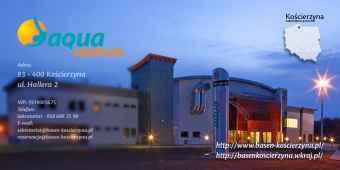"""Prezentacja panoramiczna dla obiektu """"AQUA Centrum""""  KASZUBSKIE CENTRUM SPORTOWO-REKREACYJNE"""