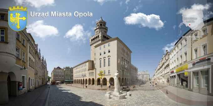 Prezentacja panoramiczna dla obiektu Urząd Miasta Opola