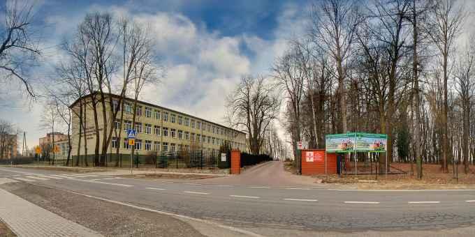 Prezentacja panoramiczna dla obiektu Zespół Szkół Centrum Kształcenia Rolniczego im. Wincentego Witosa w Różańcu