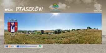 Prezentacja panoramiczna dla obiektu wieś PTASZKÓW