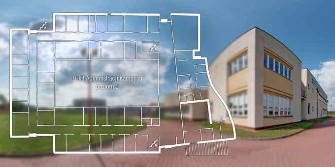 Prezentacja panoramiczna dla obiektu Centrum Badań Przyrodniczych UJ