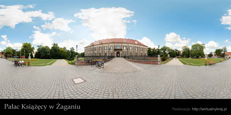 Prezentacja panoramiczna dla obiektu Pałac Książęcy w Żaganiu