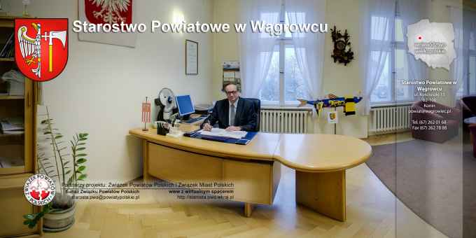 Prezentacja panoramiczna dla obiektu Starostwo Powiatowe w Wągrowcu