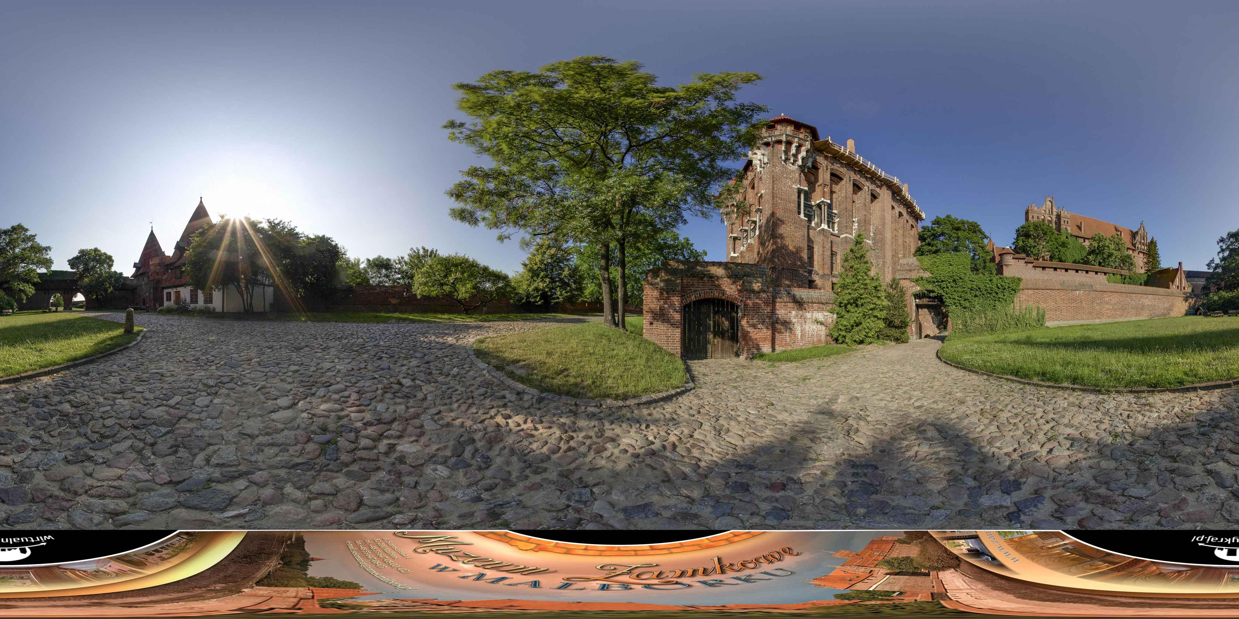Prezentacja panoramiczna dla obiektu Muzeum Zamkowe w Malborku
