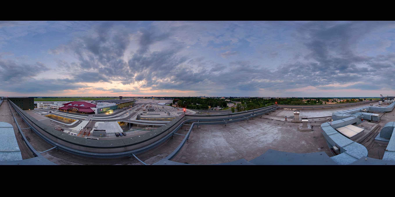 Prezentacja panoramiczna dla obiektu Courtyard by Marriott Warsaw Airport