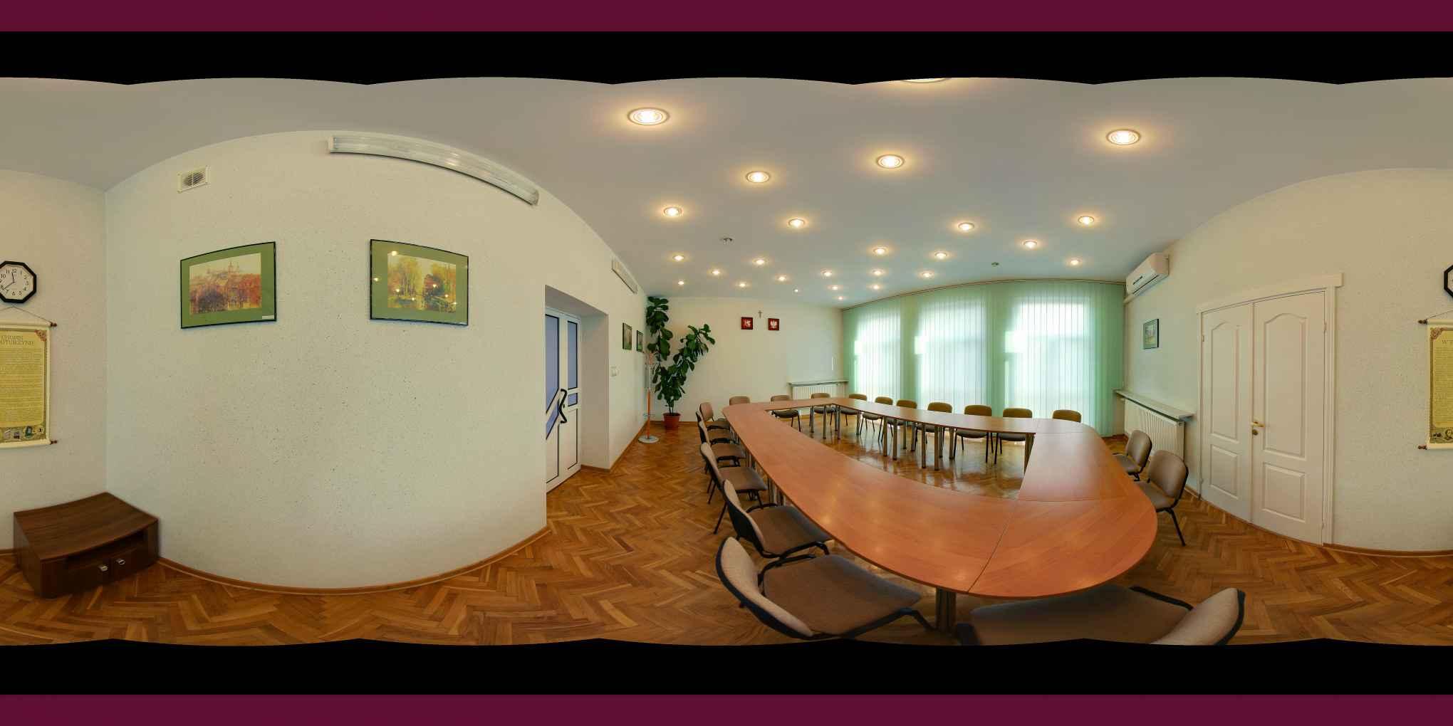 Prezentacja panoramiczna dla obiektu Starostwo Powiatowe w Tomaszowie Lubelskim