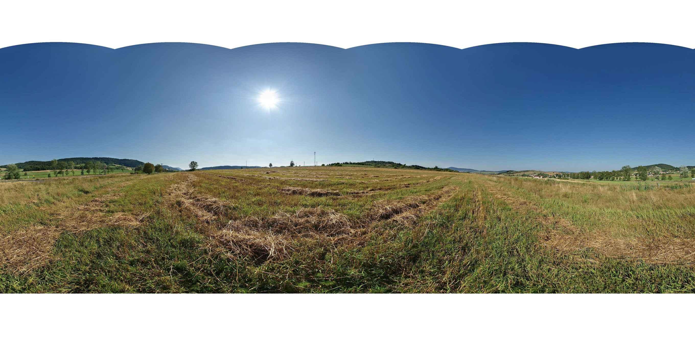Prezentacja panoramiczna dla obiektu wieś PRZEDWOJÓW