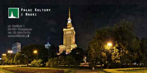 Prezentacja panoramiczna dla obiektu Pałac Kultury i Nauki