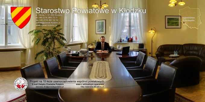Prezentacja panoramiczna dla obiektu Starostwo Powiatowe w Kłodzku