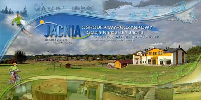 Prezentacja panoramiczna dla obiektu Ośrodek wypoczynkowy i stacja narciarska JACNIA