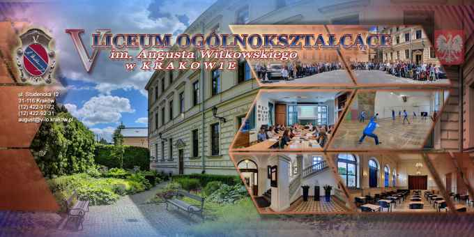 Prezentacja panoramiczna dla obiektu V Liceum Ogólnokształcące im. Augusta Witkowskiego