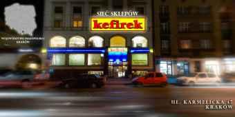 """Prezentacja panoramiczna dla obiektu sklep """"KEFIREK"""""""