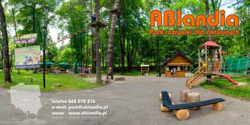 Prezentacja panoramiczna dla obiektu Park Linowy Krościenko