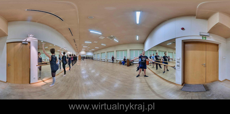 Prezentacja panoramiczna dla obiektu Zespół pieśni i tańca Uniwersytetu Jagiellońskiego Słowianki
