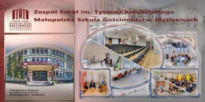 Prezentacja panoramiczna dla obiektu Zespół Szkół Ponadgimnazjalnych Małopolska Szkoła Gościnności
