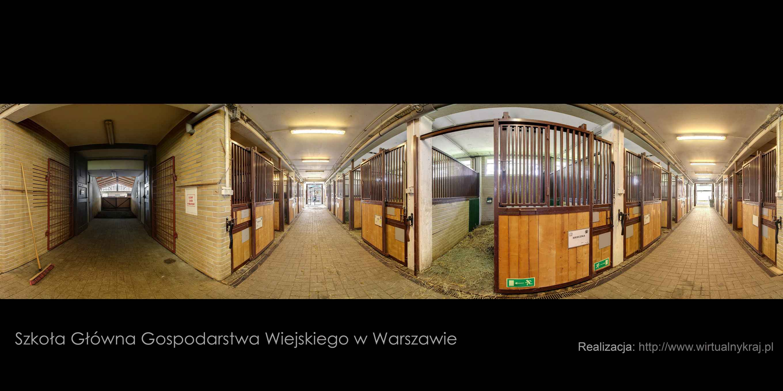 Prezentacja panoramiczna dla obiektu Stajnia Dydaktyczna SGGW