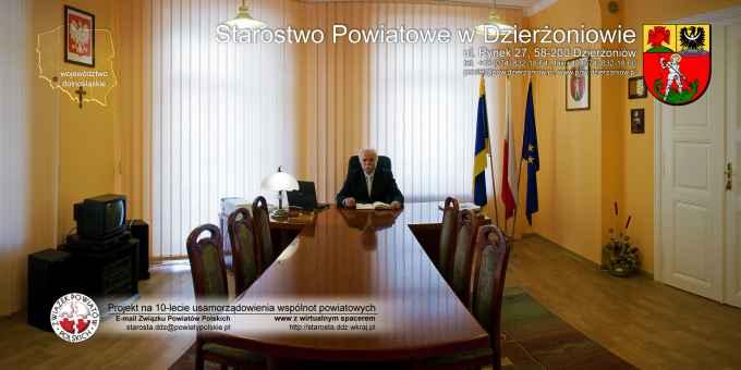 Prezentacja panoramiczna dla obiektu Starostwo Powiatowe w Dzierżoniowie