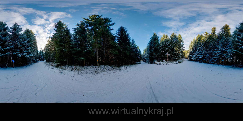 Prezentacja panoramiczna dla obiektu Trasy Narciarskie w Powiecie Limanowskim
