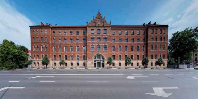 Prezentacja panoramiczna dla obiektu Uniwersytet Rolniczy w Krakowie