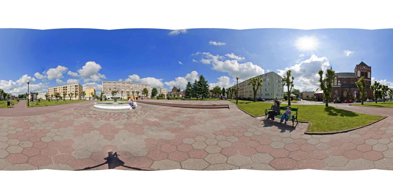 Prezentacja panoramiczna dla obiektu miasto ŚWIDWIN