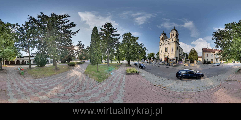 Prezentacja panoramiczna dla obiektu miasto Biłgoraj