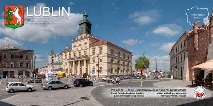 Prezentacja panoramiczna dla obiektu Urząd Miasta w Lublinie