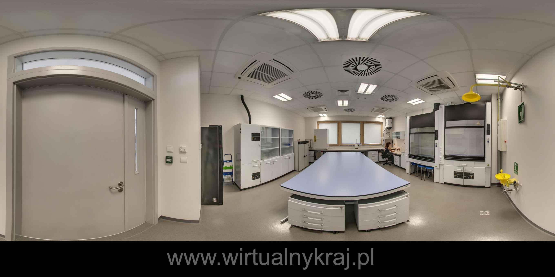 Prezentacja panoramiczna dla obiektu Instytut Nauk Geologicznych UJ