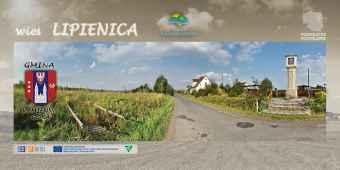 Prezentacja panoramiczna dla obiektu wieś LIPIENICA