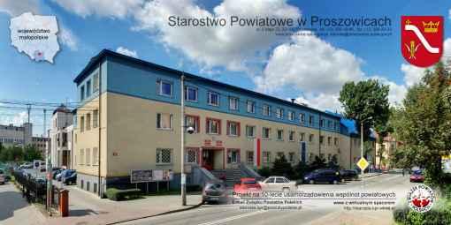 Prezentacja panoramiczna dla obiektu Starostwo Powiatowe w Proszkowicach