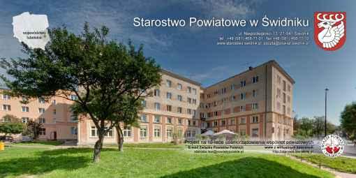 Prezentacja panoramiczna dla obiektu Starostwo Powiatowe w Świdniku