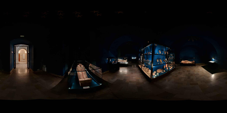 Prezentacja panoramiczna dla obiektu Muzeum Archeologiczne