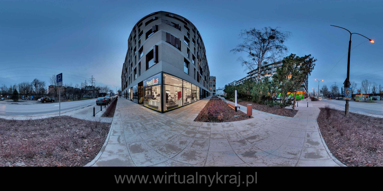 Prezentacja panoramiczna dla obiektu Salon NAUTILUS – Warszawa