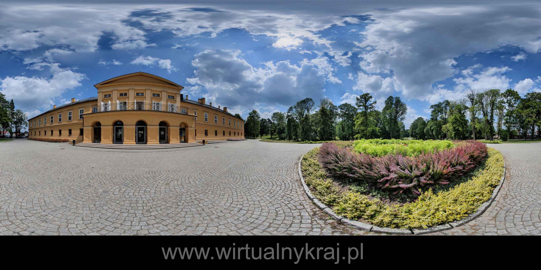 Prezentacja panoramiczna dla obiektu Zespół Pałacowo-Parkowy w Koszęcinie