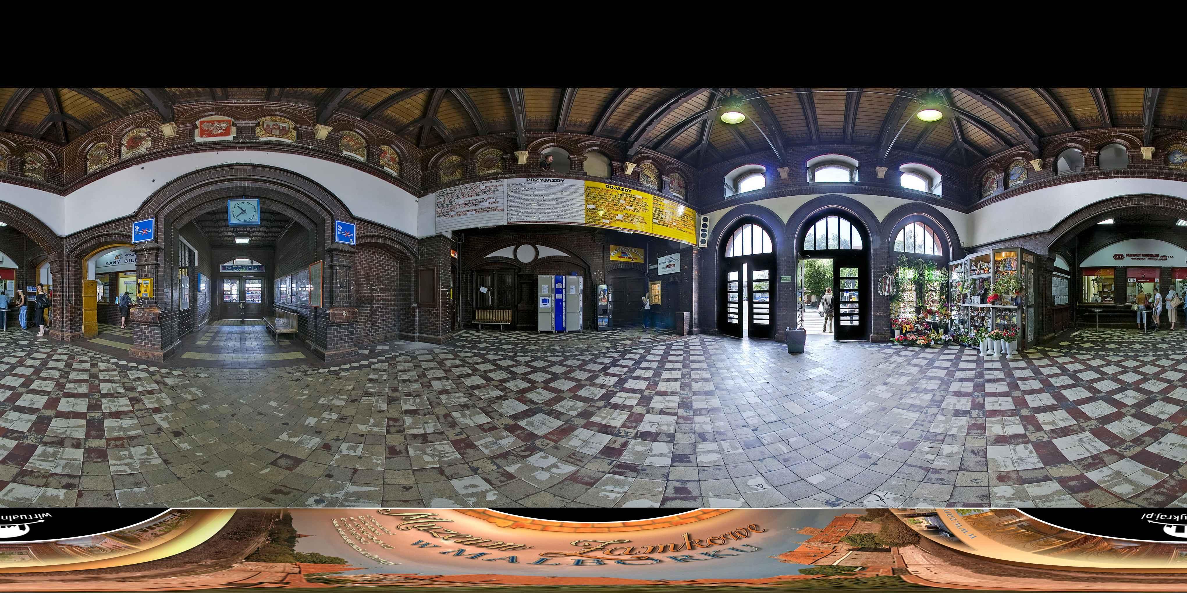 Prezentacja panoramiczna dla obiektu miasto MALBORK