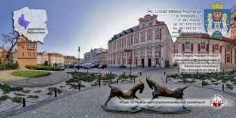 Prezentacja panoramiczna dla obiektu Urząd Miasta w Poznaniu